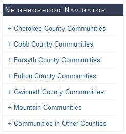Atlanta Real Estate Info Neighborhood Navigator